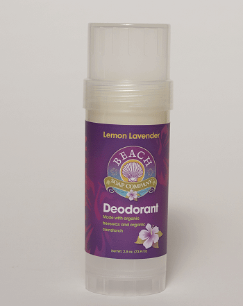 Natural Deodorant That Actually Works Lemon Lavender Organic Deodorant