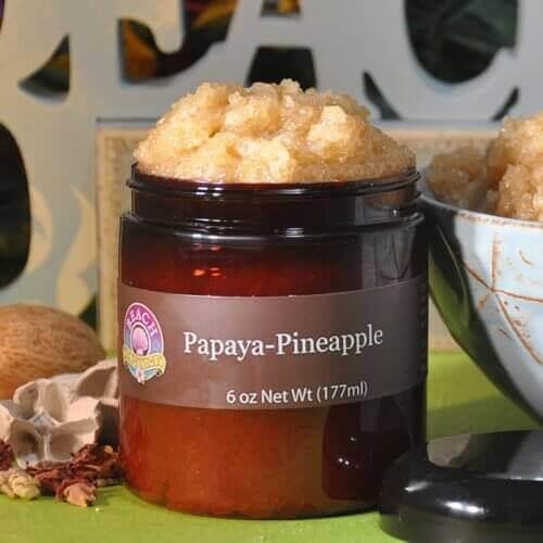 Papaya Pineapple Scrub